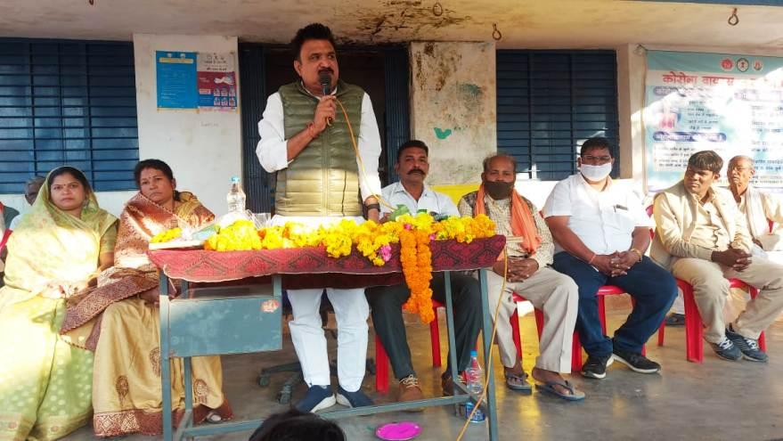 लाखों के विकास कार्यों का संसदीय सचिव ने खल्लारी क्षेत्र में किया भूमिपूजन व लोकार्पण