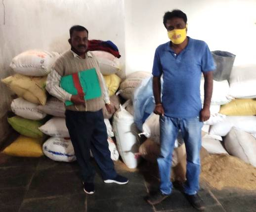 10 लोगों पर अवैध रूप से धान का भंडारण करने पर हुई कार्यवाही,320 बोरा धान जप्त