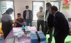 बलौदाबाजार जिले में किया गया कोविड-19 वैक्सीनेशन का सफलता पूर्वक ड्राई रन