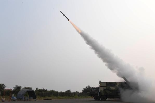 डीआरडीओ ने आकाश-एनजी मिसाइल का किया सफल परीक्षण
