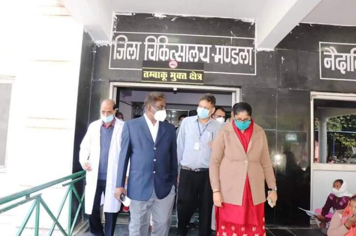 स्वास्थ्य सेवाओं में लापरवाही करने पर की जाएगी कार्यवाही-स्वास्थ्य मंत्री डॉ. प्रभुराम