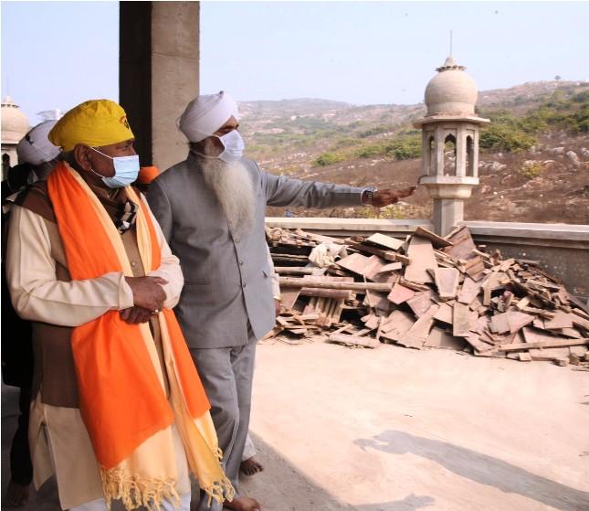 राजगीर स्थित श्री नानक देव' शीतलकुंड का परिभ्रमण किया CM नीतीश कुमार ने