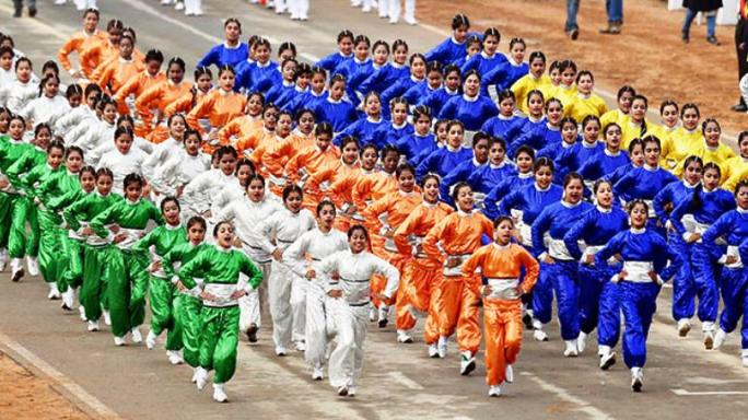 दिल्ली के राजपथ में सांस्कृतिक कार्यक्रम में भाग लेगे 321 छात्र व् 80 लोक कलाकार