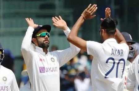 चिदंबरम स्टेडियम में टीम इंडिया ने इंग्लैंड को 317 रन हराया मैच 1-1 से बराबर