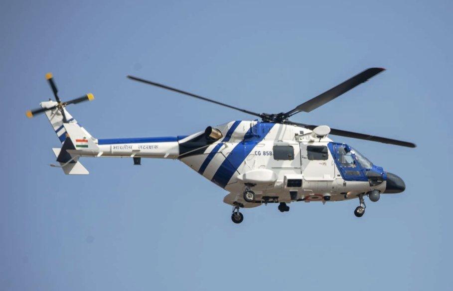 भारतीय तटरक्षक बल में उन्नत व् हल्के एमके-III हेलीकॉप्टर हुए शामिल