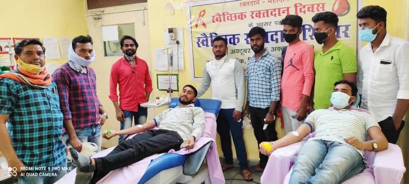 रक्तदाता सेवार्थ समिति के सदस्य अब अपने दोस्तों के जन्मदिन पर करेगें रक्तदान
