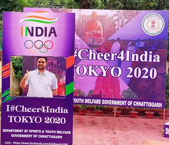 खेल मंत्री ने ओलम्पिक में अधिक पदक जीतने के लिए खिलाड़ियों का किया उत्साहवर्द्धन