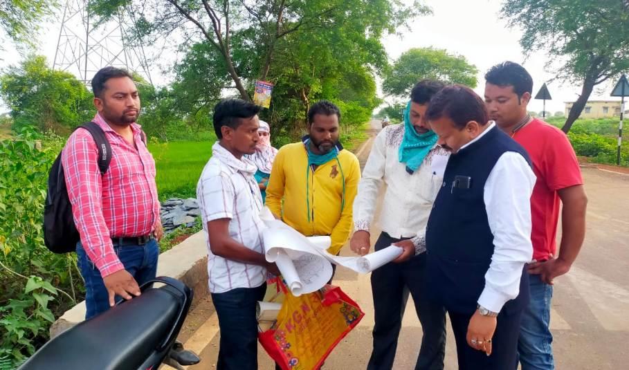 मेडिकल कॉलेज निर्माण के लिए सीमांकन का काम पूरा,संसदीय सचिव ने लिया जायजा