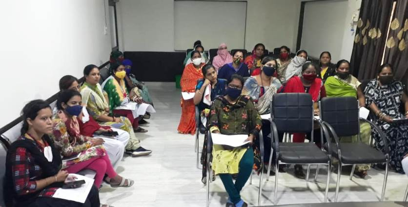 शहर में पुरे 50 महिलाओं की टीम जाएगी डोर टू डोर,लेगी वैक्सीनेशन की जानकारी