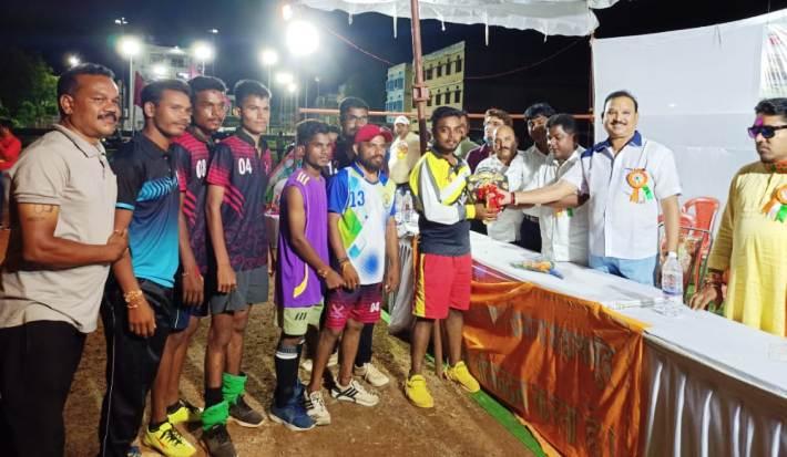 मेजर ध्यानचंद के जन्मदिन पर उत्कृष्ट खिलाड़ियों का किया गया सम्मान