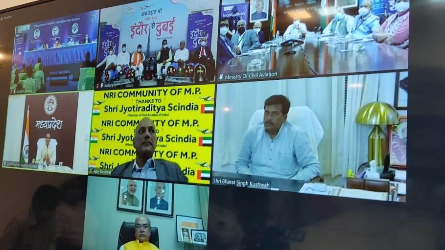 इंदौर मध्य प्रदेश के लिए ग्रोथ का इंजन है-मुख्यमंत्री शिवराज सिंह चौहान