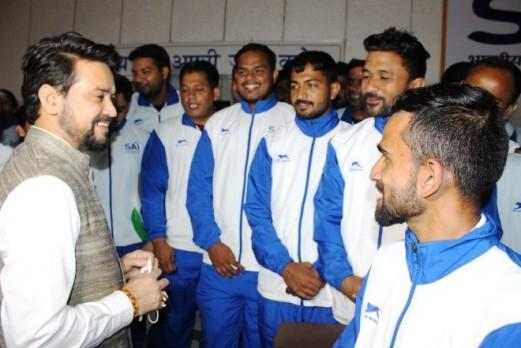 भारत में खेलों का भविष्य प्रशिक्षकों के हाथों में निहित है-खेल मंत्री अनुराग ठाकुर