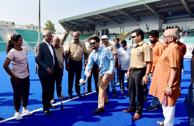 ओलंपिक की सफलता ने भारत में हॉकी को एक खेल के रूप में नवजीवन दिया-खेल मंत्री